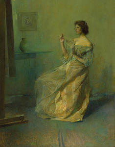 Thomas Wilmer Dewing - Ожерелье