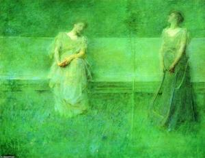 Thomas Wilmer Dewing - Песня