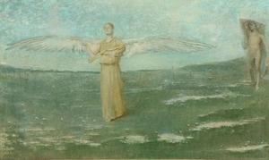 Thomas Wilmer Dewing - Tobias и чем Angel