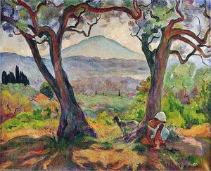 Henri Lebasque - Крышка Sicie