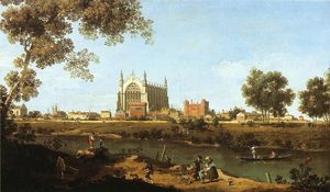 Giovanni Antonio Canal (Canaletto) - часовня of Eton College