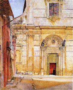 Henry Roderick Newman - В Church of San Giovanni , Lucca