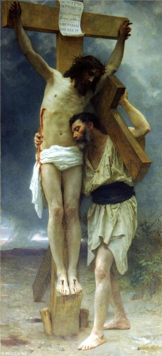 Сострадание, 1897 по William Adolphe Bouguereau (1825-1905, France) | Картина Копия | WahooArt.com