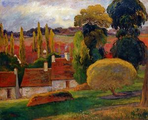 Paul Gauguin - Ферма в Бретани