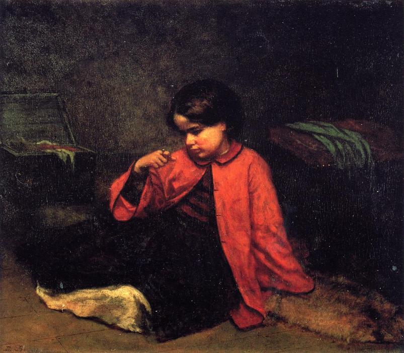 ту СВОБОДУ кольце, 1860 по Jonathan Eastman Johnson (1824-1906, United Kingdom) | Репродукции Музея | WahooArt.com
