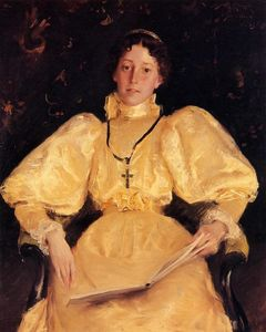 William Merritt Chase - Golden Lady