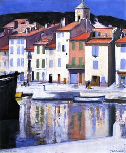 Francis Campbell Boileau Cadell - Харбор, Кассис