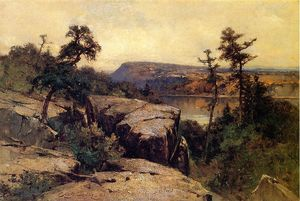 George Henry Smillie - Озеро Mohonk