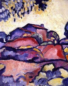 Georges Braque - Пейзаж в L Estaque