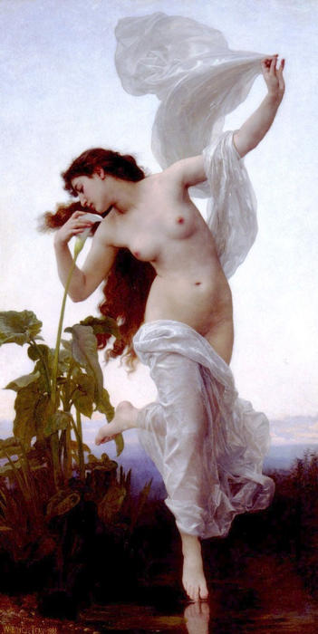 Получить Картина Копия L'aurore ( известно также, as Рассвет ), 1881 по William Adolphe Bouguereau (1825-1905, France) | WahooArt.com | Получить Картина Маслом L'aurore ( известно также, as Рассвет ), 1881 по William Adolphe Bouguereau (1825-1905, France) | WahooArt.com