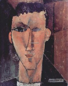 Amedeo Modigliani - Портрет Раймонд