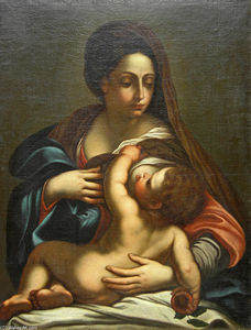 Annibale Carracci - Virgin и ребёнок