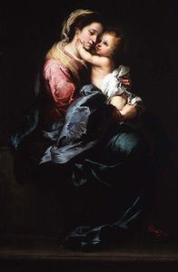 Bartolome Esteban Murillo - Virgin и ребёнок