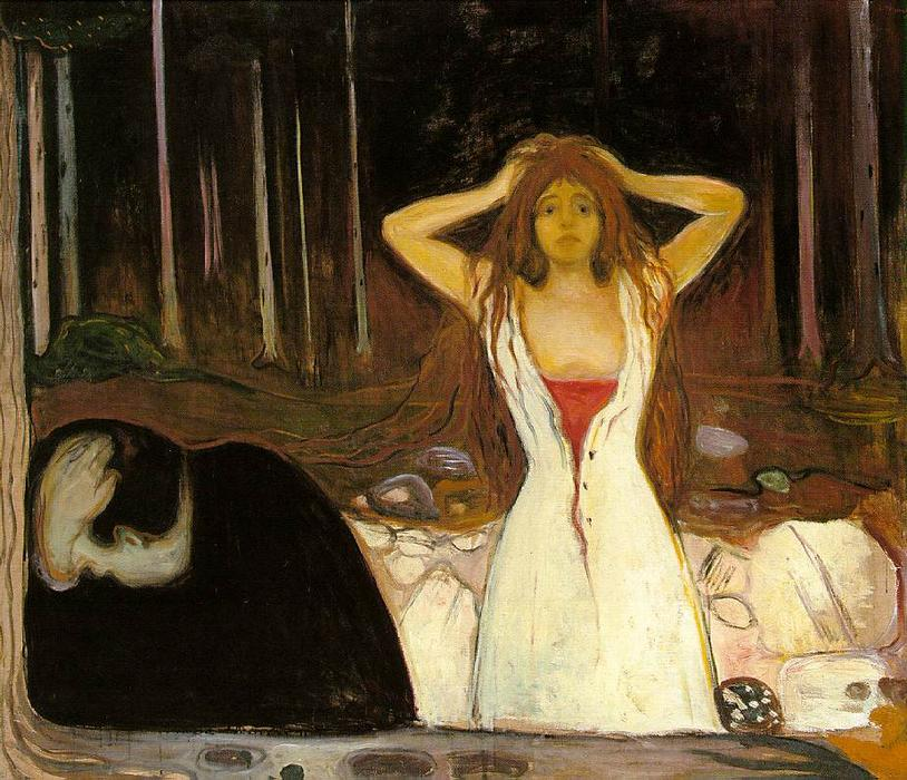 Пепел, 1894 по Edvard Munch (1863-1944, Sweden) | Картина Копия | WahooArt.com