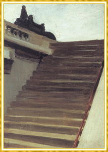 Edward Hopper - Stepsin Париж