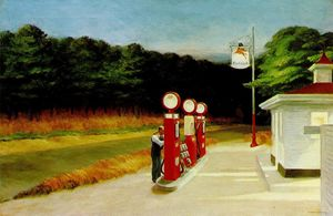 Edward Hopper - газ