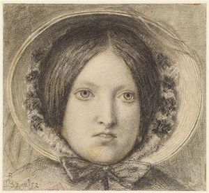 Ford Madox Brown - Эмма Хилл