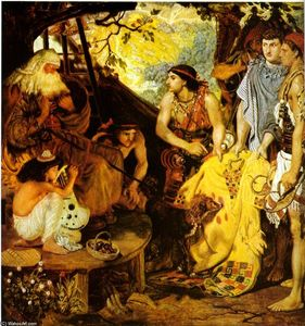 Ford Madox Brown - Jacob and Joseph's Пальто