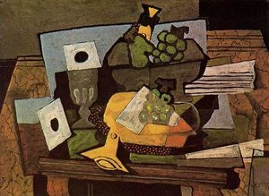 Georges Braque - натюрморт с Кларнет