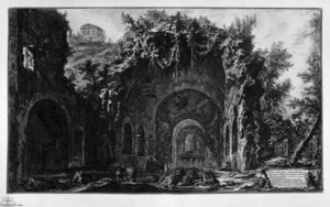 Giovanni Battista Piranesi - Вид на Храм Camene