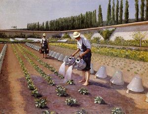 Gustave Caillebotte - Садовники