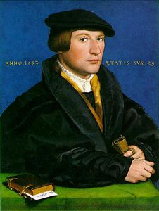 Hans Holbein The Younger - Портрет члена семьи Wedigh