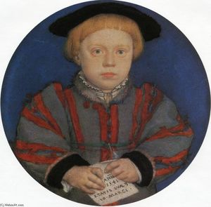 Hans Holbein The Younger - Портрет Генри Брэндон