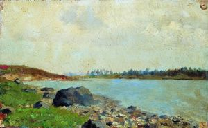 Isaak Ilyich Levitan - На Moscow-river