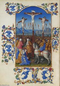 Limbourg Brothers - Crucifixion