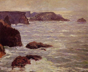 Maxime Emile Louis Maufra - Побережье Goulphar