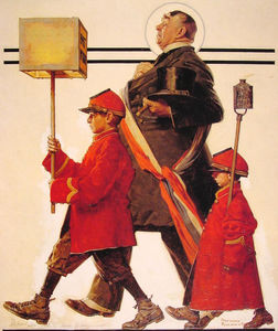 Norman Rockwell - Парад