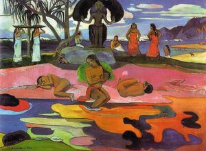 Paul Gauguin - день Боги