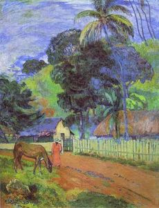 Paul Gauguin - ландшафт