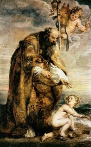 Peter Paul Rubens - Улица Августин