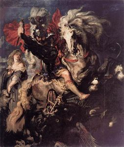 Peter Paul Rubens - Св . George и а Дракон