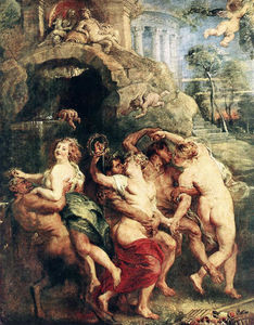 Peter Paul Rubens - праздник самого венера