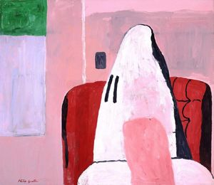 Philip Guston - комната
