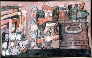 Philip Guston - улица