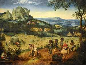 Pieter Bruegel The Elder - Сенокос