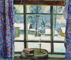 Pyotr Konchalovsky - Window самого Поэт