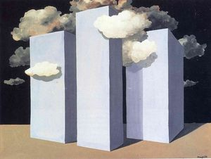 Rene Magritte - a шторм
