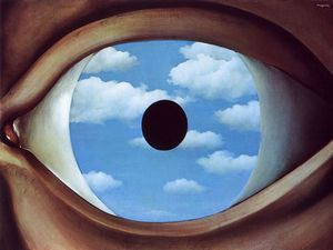 Rene Magritte - Ложное ЗЕРКАЛО