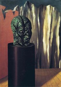 Rene Magritte - лес