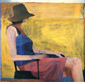 Richard Diebenkorn - Сидящая женщина