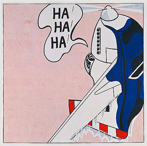 Roy Lichtenstein - Живая боеприпасы гектара  гектара  гектара