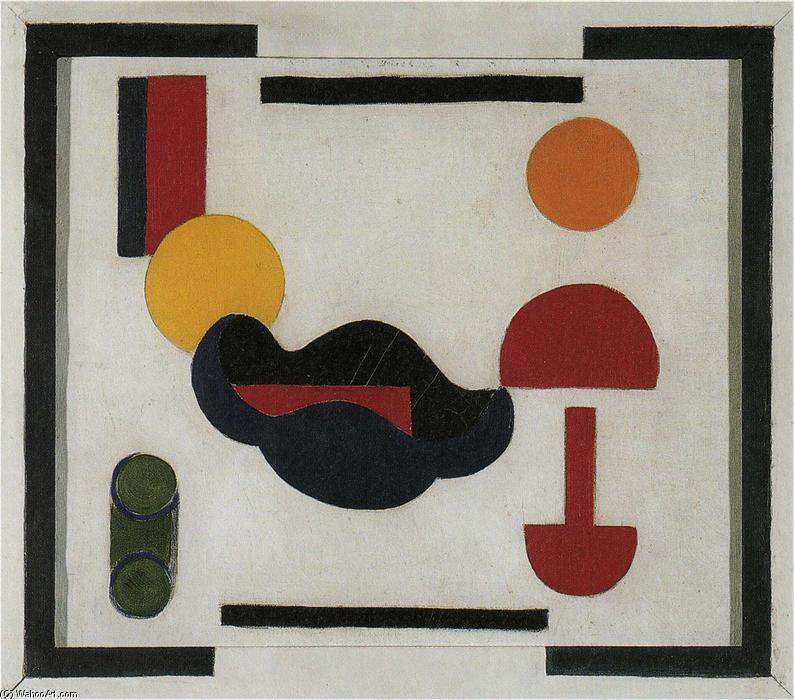 Тем не менее Life Состав В, холст, масло по Theo Van Doesburg (1883-1931, Netherlands)