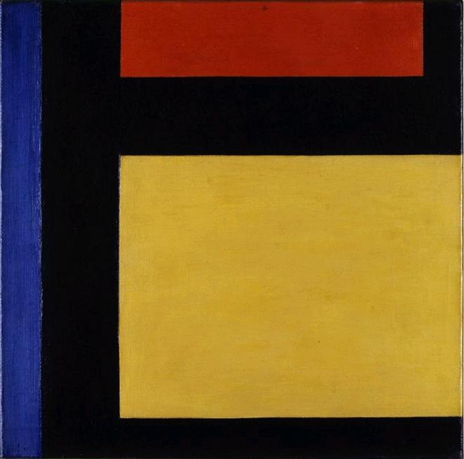 Счетчик состав Х, 1924 по Theo Van Doesburg (1883-1931, Netherlands)