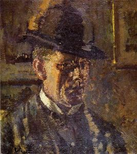 Walter Richard Sickert - Ведущий несовершеннолетних самостоятельно ПОРТРЕТ
