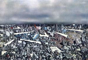 Yves Tanguy - Multiplicatiion из самых Дуги