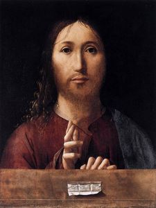 Antonello Di Giovanni Di Antonio (Antonello Da Messina) - Сальватор Мунди